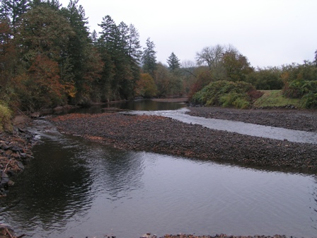 Former Dam Site Upstream